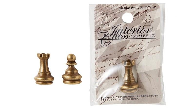 インテリアチェス ルーク・ポーン