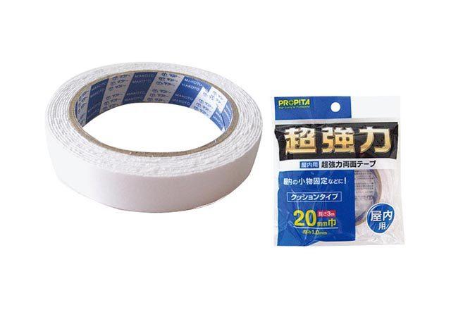 屋内用超強力両面テープ20mm巾×3m