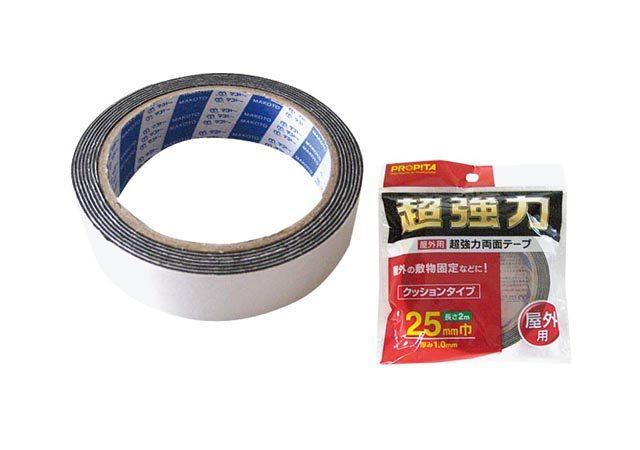 屋外用超強力両面テープ25mm巾×2m