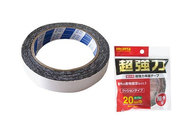 屋外用超強力両面テープ20mm巾×3m