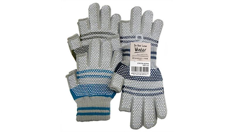滑り止め付きワーク手袋